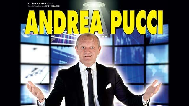 Biglietti ANDREA PUCCI IN C'E' SOLO DA RIDERE... - Clappit
