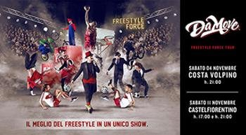 The Freestyle Force Show, riparte il tour dei Da Move che vi lascerà a bocca aperta