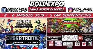 ABBONAMENTO DOLLEXPO: MULTI-CONVENTIONS E ART
