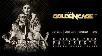 Sabato 9 giugno arriva lo Sport Entertainment di The Golden Cage: MMA e musica hip hop e trap