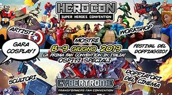 HeroCon, the convention dedicated to superheroes is back in Rome on 8 and 9 June!