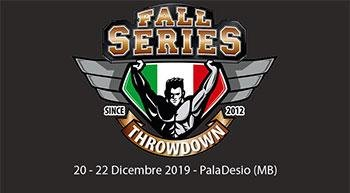 Fall Series Throwdown at PalaDesio (MB) from December 20th to 22nd, buy tickets online!