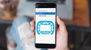 Choosing your seating on the map has never been so easy!