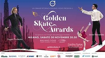 Golden Skate Awards returns to Milan! Saturday, November 30th, buy tickets online!