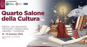 The fourth edition of Salone della Cultura returns to Milan on 18th and 19th January, 2020!